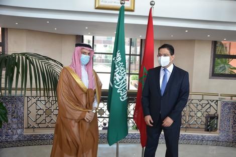 """المغرب يعتبر سيادة وسلامة أراضي المملكة السعودية """"خطا أحمر"""""""