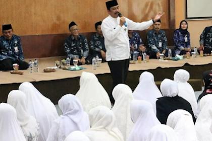 128 Calon Jammah Haji dari Dispendik Kabupaten Gresik Mendapat Pembekalan