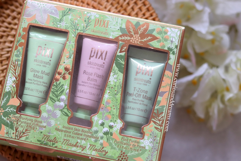 Pixi Skintreats Multi-Masking Medley Review, Pixi India, Pixi beauty India, Pixi review India