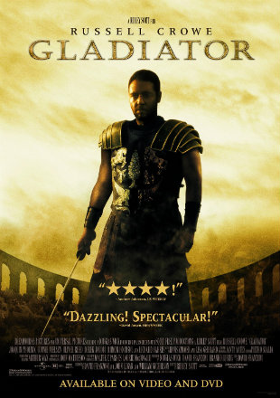 Gladiator 2000 Dual Audio BRRip 720p In Hindi English