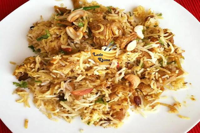 Kathal Biryani Recipe in Hindi