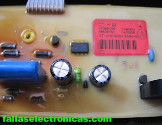 circuito electronico lavadora electrolux