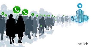 WhatsApp users migrating to Telegram app