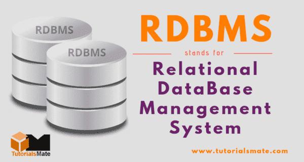 RDBMS Full Form