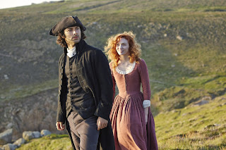 Poldark, Aidan Turner, Eleanor Tomlinson, Golden Nymph Award