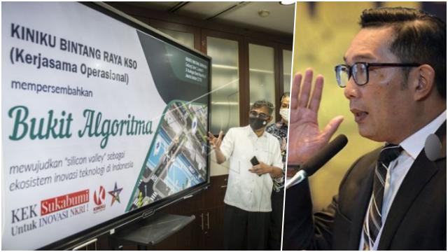 Ridwan Kamil Kritik 'Silicon Valley' Bukit Algoritma, Jangan Cuma Jadi Gimik!