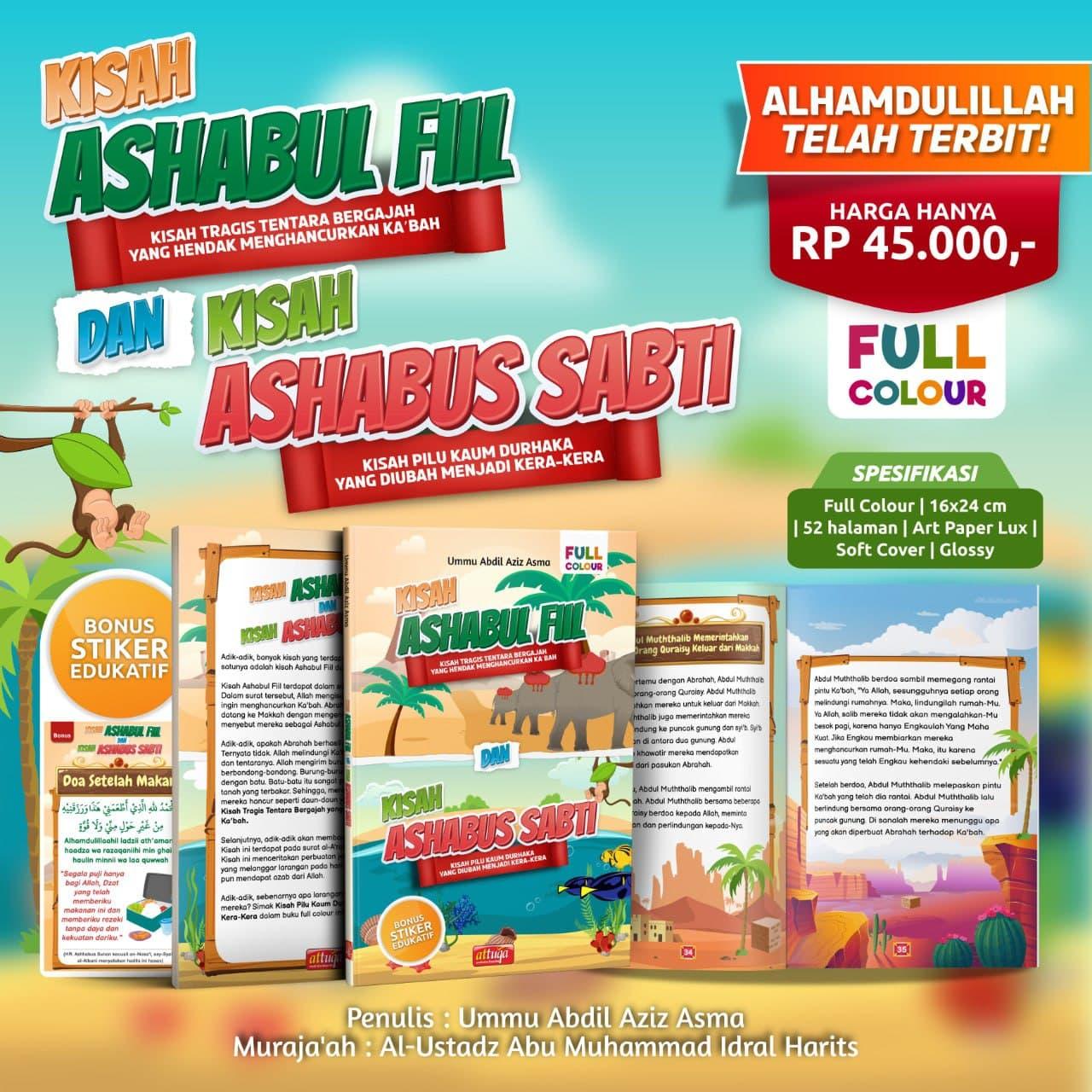 Buku Kisah Ashabul Fiil dan Ashabus Sabti Attuqa