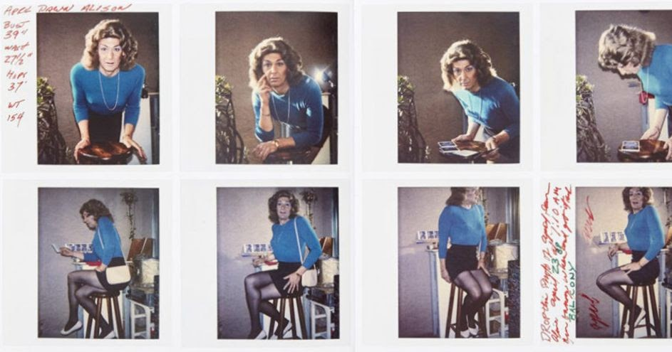 The Many Faces of April Dawn Alison: Private Polaroids Discovered in Boxes Reveal the Secret of an LGBTQ Artist