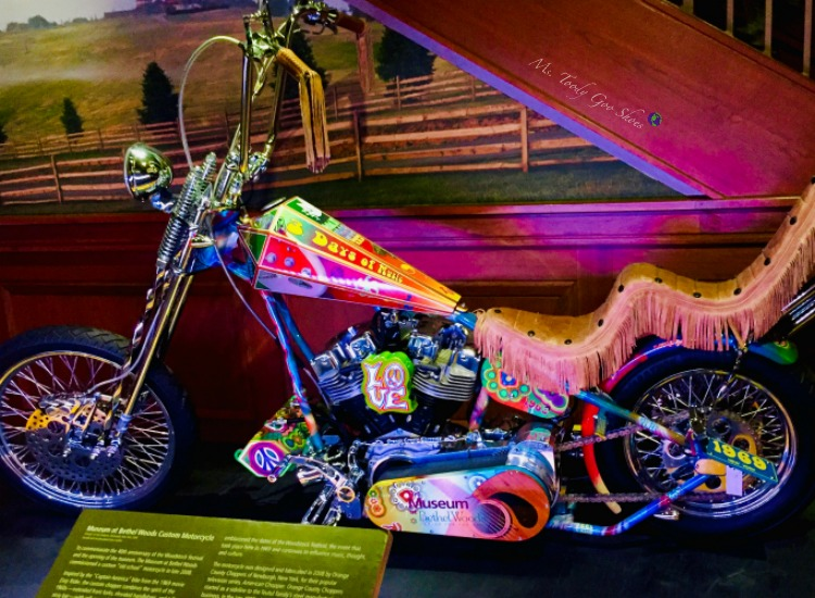 The Woodstock Museum at the Bethel Woods Center For The Arts Center sits on the site of the famous Woodstock concert | Ms. Toody Goo Shoes