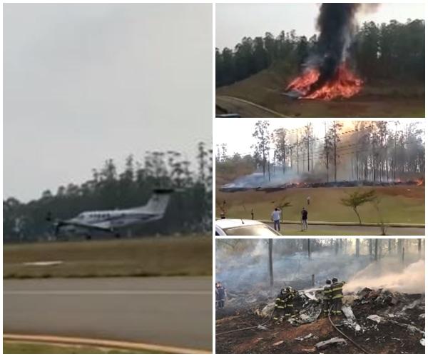 Blog do Gilberto Lima: Sócio da Cosan, 3 filhos, esposa e pilotos são as vítimas da queda de avião em Piracicaba