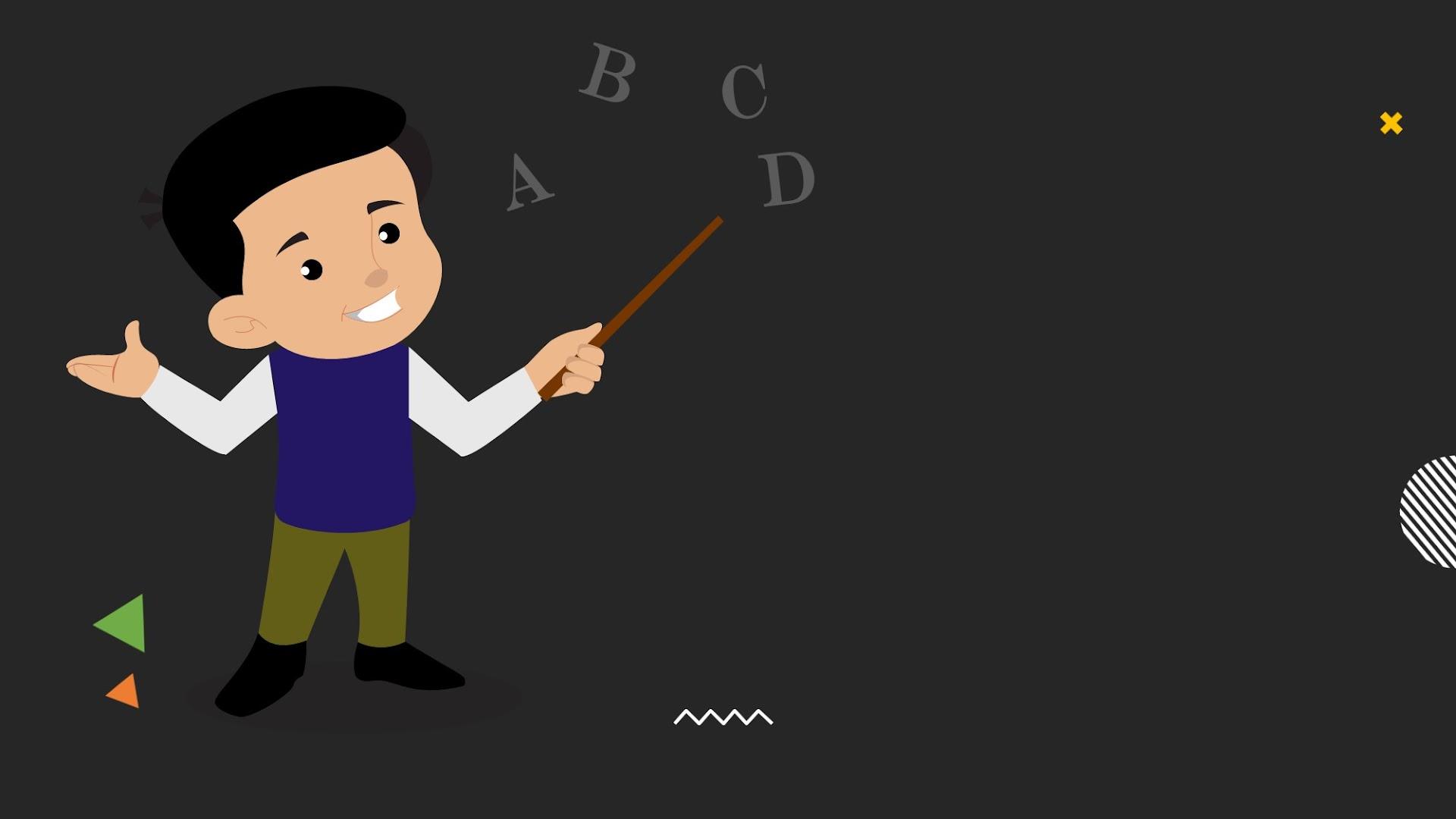 Free Kids as Teacher Google Slides theme Background
