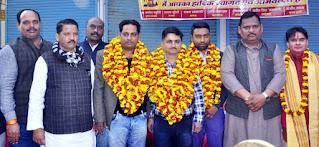 श्री गणपति पूजा महासमिति जौनपुर का द्विवार्षिक चुनाव सम्पन्न | #NayaSaberaNetwork