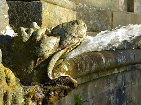 Dragon at the top of the Cascade, Chatsworth
