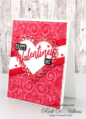 Check out this fun Happy Valentine's Day Card I made using scraps from my craft desk.  Click here to learn more!