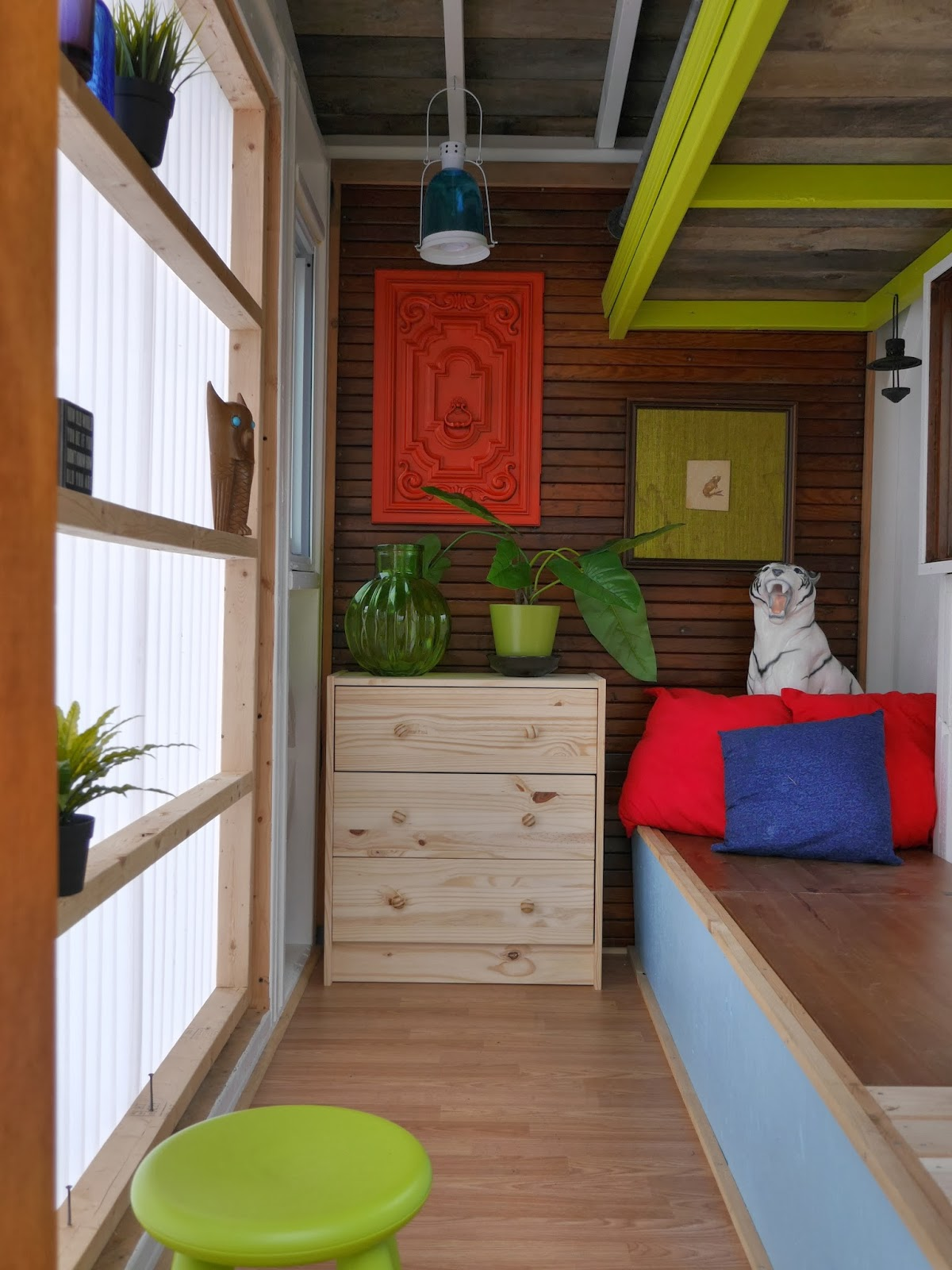 Relaxshacks Com Another Look At Deek S Cabin On Wheels