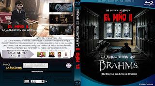 CARATULA EL NIÑO II LA MALDICION DE BRAHMS - THE BOY LA MALDICION DE BRAHMS - BRAHMS THE BOY II 2019[COVER BLU-RAY]