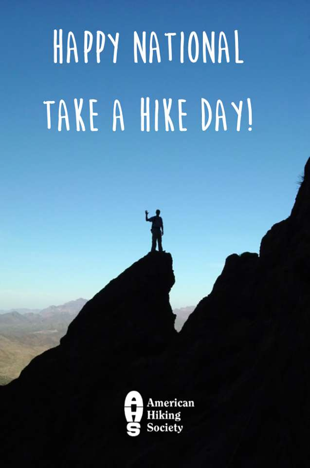 National Take a Hike Day Wishes
