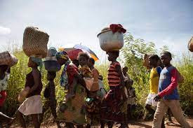 people displaced by extreme climate