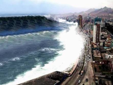 ( vídeos ) un Tsunami De Proporciones Bíblicas Sería Generado Por Una Explosion Del Volcán Kilauea Que Ahora Parece Probable.