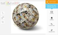Cara Mudah Membuat Efek Foto Globe 3D