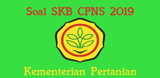 soal skb kementerian pertanian cpns 2019