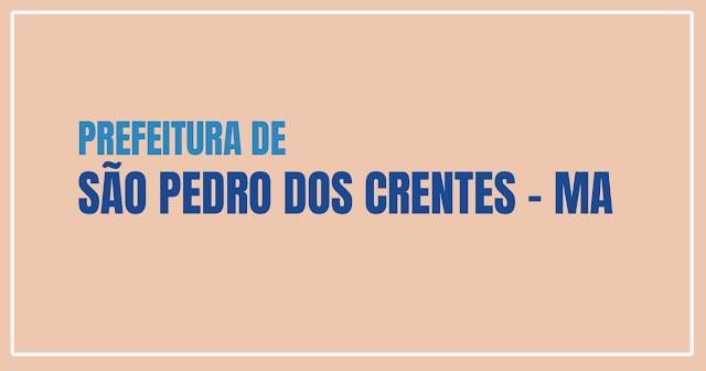Concurso Público da Prefeitura de São Pedro dos Crentes - Maranhão