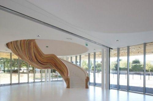Beautiful stylish staircase