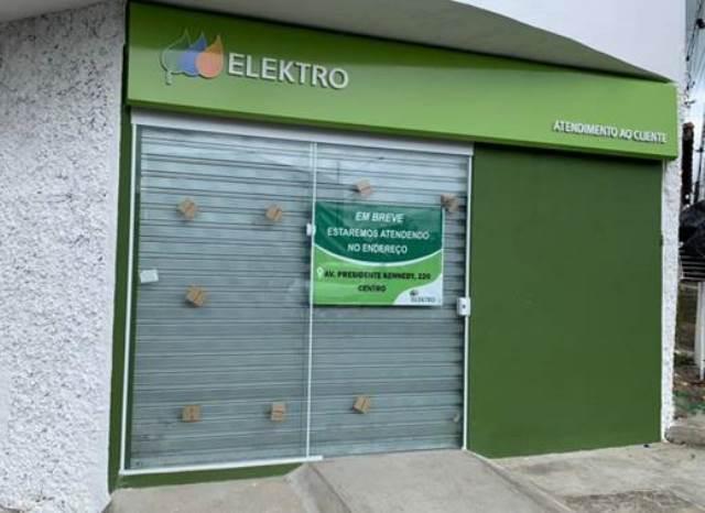 ESPAÇO DE ATENDIMENTO DA ELEKTRO EM  REGISTRO-SP EM NOVO ENDEREÇO