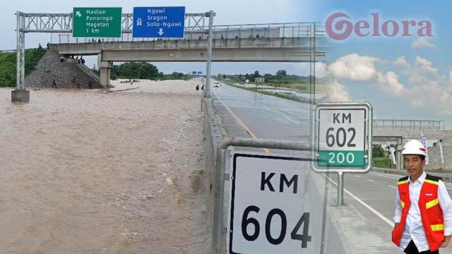 Baru Kali Ini Ruas Jalan Tol Terendam Banjir