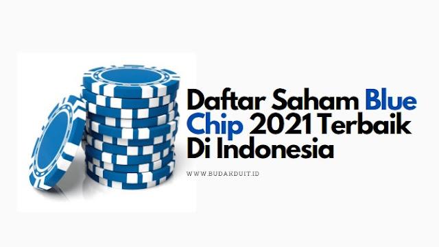 Daftar Saham Blue Chip 2021 Terbaik Di Indonesia