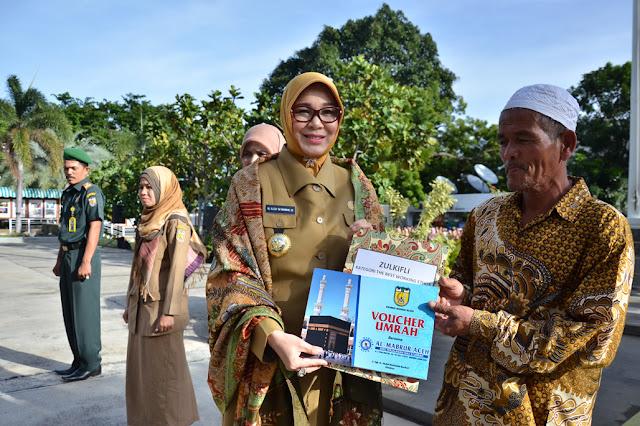 Alhamdulillah, PNS dan Non PNS Banda Aceh Diberangkatkan Umrah