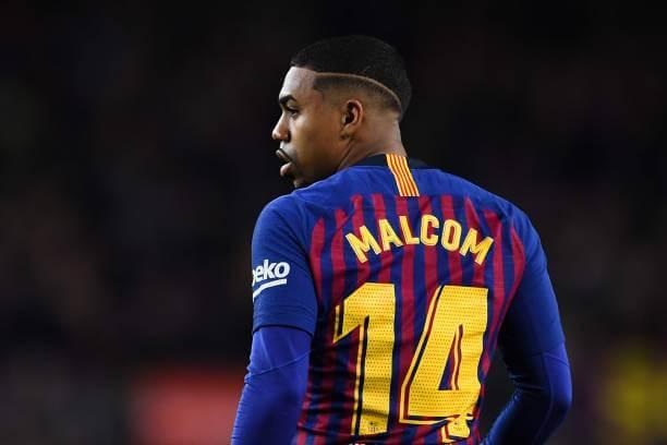 Barcelona Patok Harga Untuk Malcom Dari Arsenal