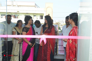 Telugu Actress Bhanu Sri Stills in Lehenga Choli at Anoo's Salon Launch at Ongole  0031.jpg