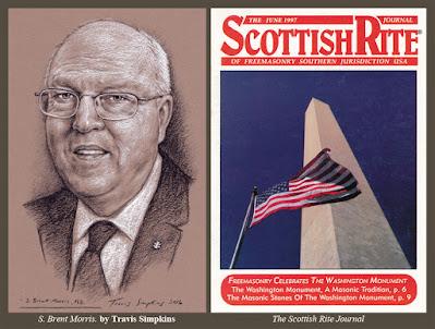 S. Brent Morris, 33° GC. Scottish Rite, SJ. Heredom. Quatuor Coronati Lodge. by Travis Simpkins