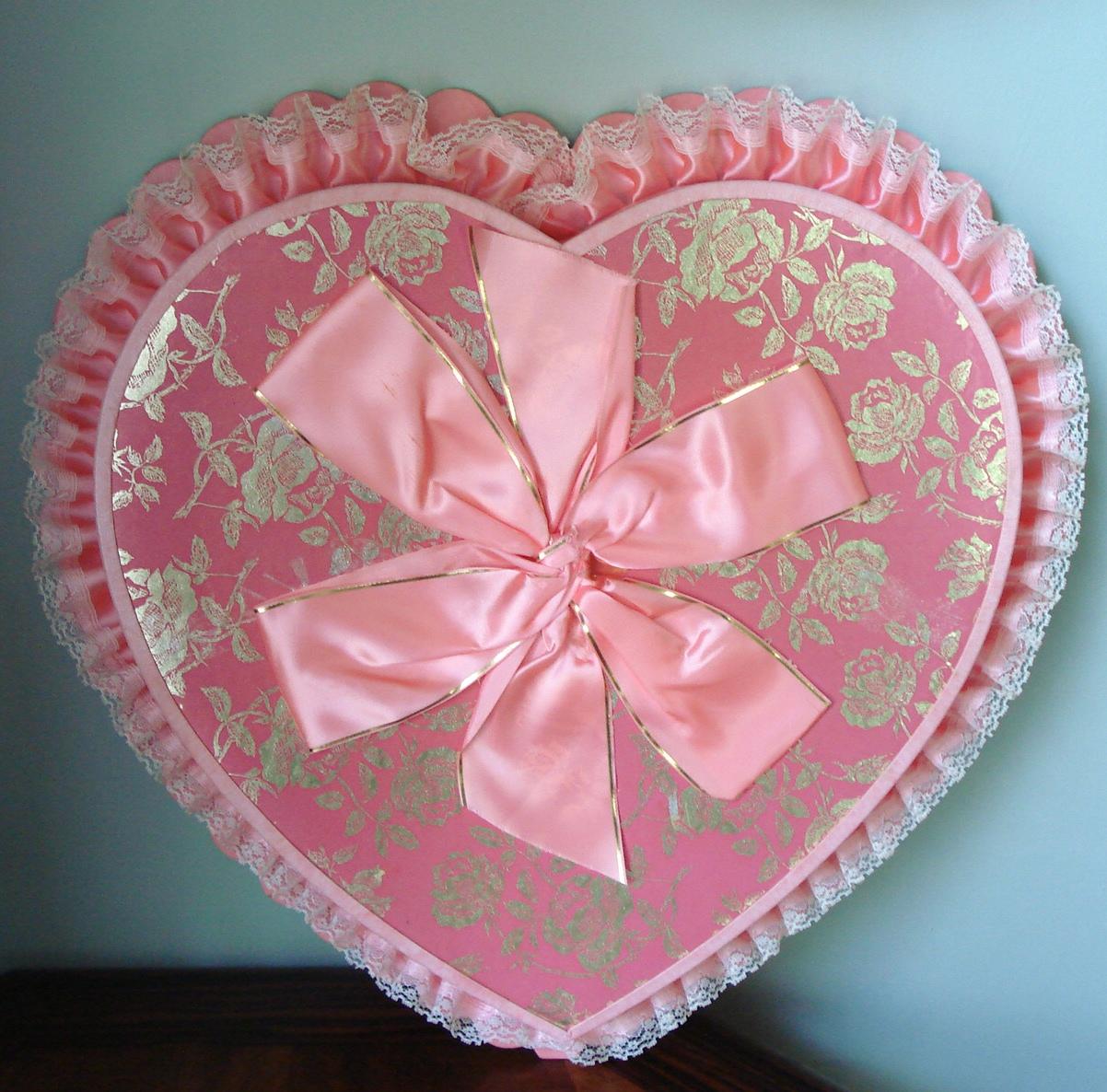 Maison Decor Vintage Valentine Candy Boxes