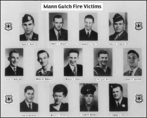 Victims of the fire Mann Gulch
