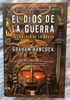 Portada del libro El dios de la guerra: la noche de las brujas, de Graham Hancock
