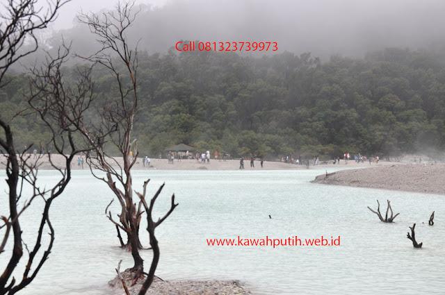 Paket wisata kawah putih dari wonosobo