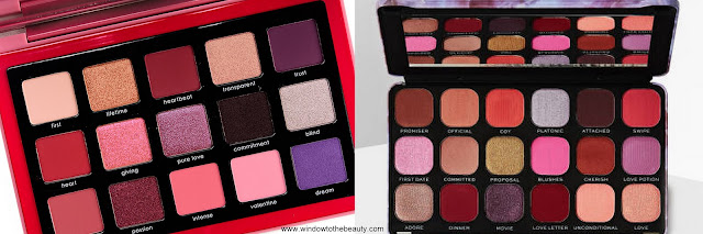 Natasha Denona Love vs Makeup Revolution Forever Flawless Unconditional Love