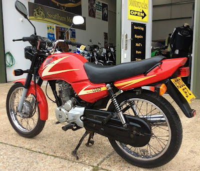 Honda CG 125 for sale on Ebay UK