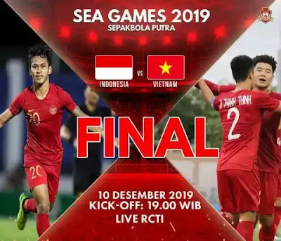 Live Streaming Indonesia vs Vietnam (SEA GAMES) 10.12.2019