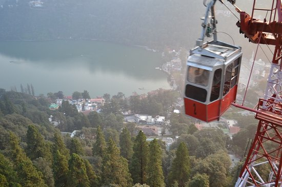 Ropeway snow see point