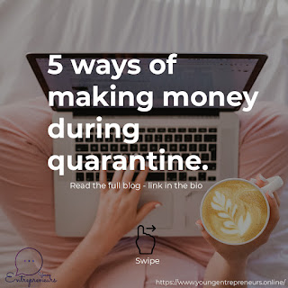 5 ways to earn money in quarantine