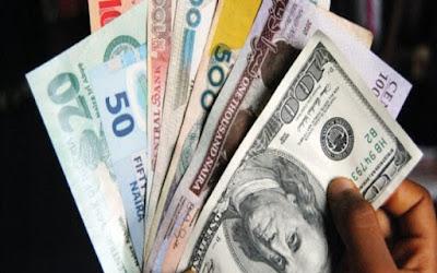 ration of dollar to naira