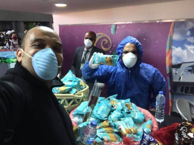 مطار مرسي علم : لو حد حابب بنزل مصر يسمع من الناس اللي مرت بالتجربه احسن من اي حد تاني