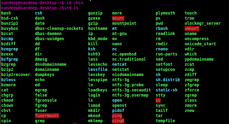 Difference Between External and Internal Command in Linux