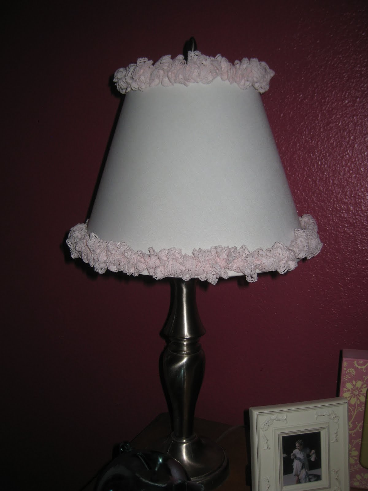 The Princess And The Pea: Girly Lamp