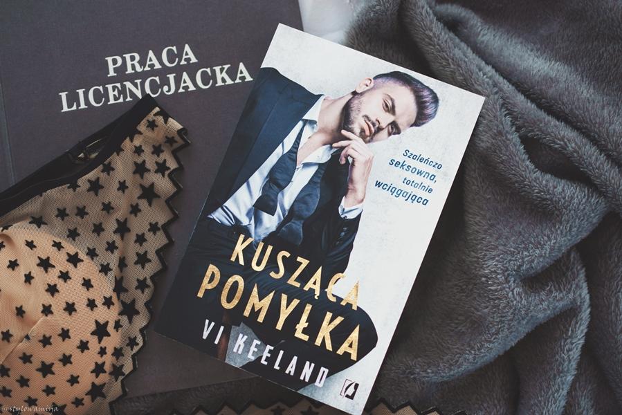 opowiadanie, recenzja, przedpremierowo, premiera, KuszącaPomyłka, ViKeeland, romans, erotyk, WydawnictwoKobiece,