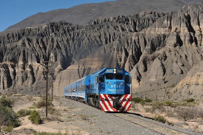 En Jujuy comparan el ferrocarril de la Quebrada con el tren de las nubes de Salta
