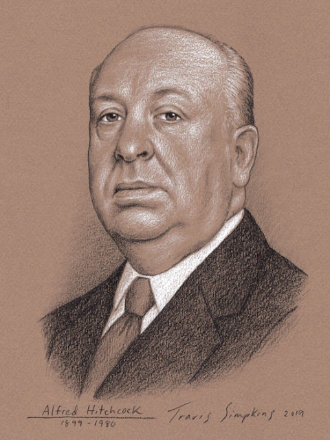 Alfred Hitchcock. The Master of Suspense. Film Director. by Travis Simpkins